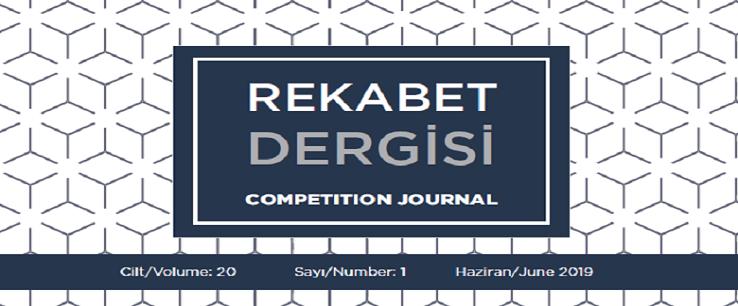 Rekabet Dergisinin Son Sayısı Yayımlanmıştır