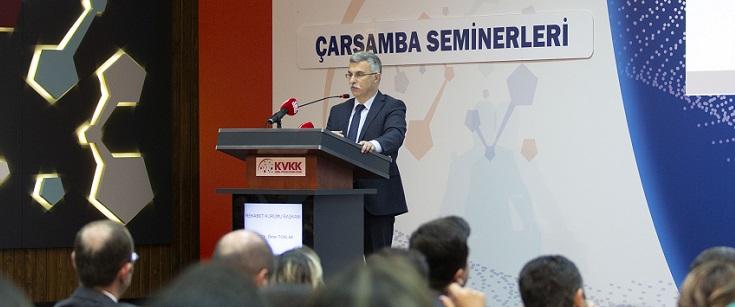 Başkan Torlak, KVKK'da Çarşamba Seminerleri'nin konuğu oldu