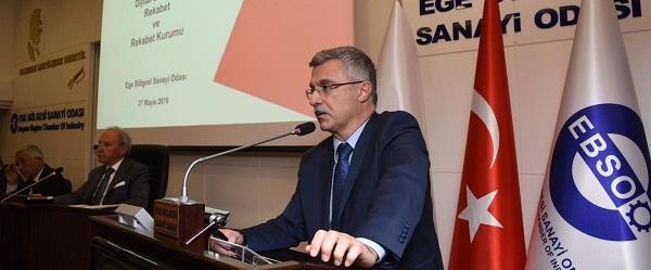 Başkan Torlak, Sanayicilere Dijital Ekonomi ve Rekabet Kurumunu anlattı